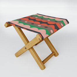 Rick Rack Garden Folding Stool