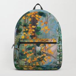 Akseli Gallen-Kallela - Autumn Forrest - Digital Remastered Edition Backpack
