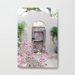 Hill Country Floral Metal Print