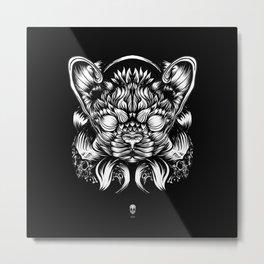 Cat or dog? Metal Print