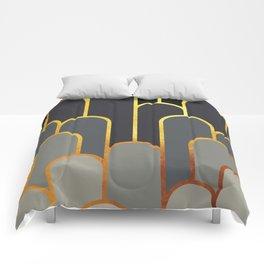 Art Deco Looking For Clues Comforters