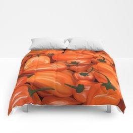 Habanero Peppers Comforters