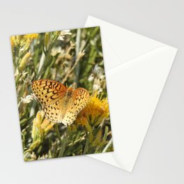 Butterfly, painted lady, wildlife, gifts Stationery Cards