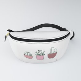 rose cactos Fanny Pack