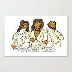 Wasabi Gees Canvas Print
