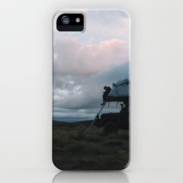 Mountain Camp, NZ iPhone Case
