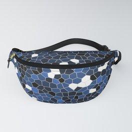 Sapphire Blue Polycamo Fanny Pack