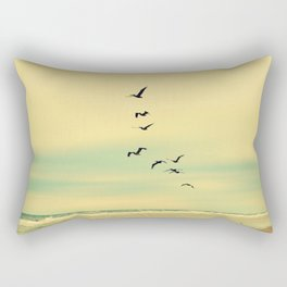 Across the Endless Sea Rectangular Pillow