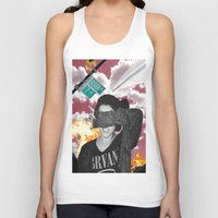 nirvana Tank Tops featuring Personal Nirvana by LittleCarmine