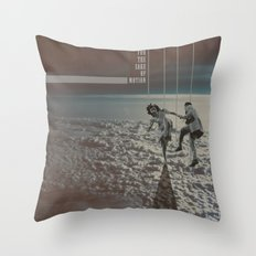 MOVING FOR THE SAKE OF MOTION Throw Pillow