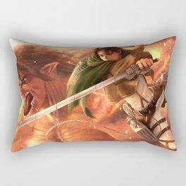 Captain Levi Rectangular Pillow