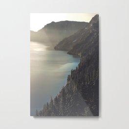 First Light at the Lake II Metal Print