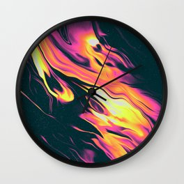 CRYING THROUGH THE CREDITS OF A SHOW Wall Clock