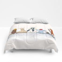 little big surfboard Comforters