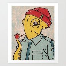 Ned Art Print