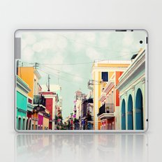 Colorful Buildings of Old San Juan, Puerto Rico Laptop & iPad Skin
