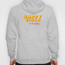 Happy Girls - typography Hoody