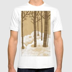 Forest is Alive! Mens Fitted Tee White MEDIUM