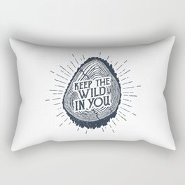 Keep The Wild In You Rectangular Pillow