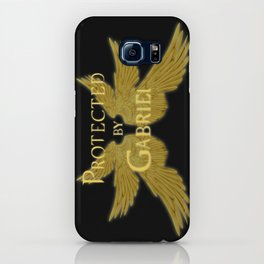 Protected by Gabriel iPhone Case