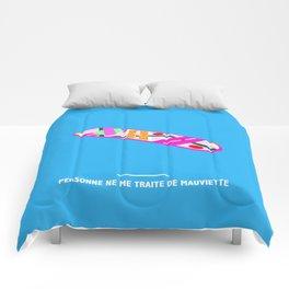 PERSONNE NE ME TRAITE DE MAUVIETTE ( Back to the Future ) Comforters