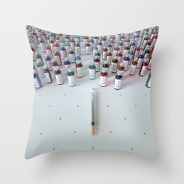 """Daily medicine"" Throw Pillow"