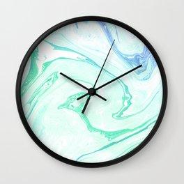 Emerald garden Wall Clock
