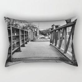 Gowanus Canal Bridge Rectangular Pillow