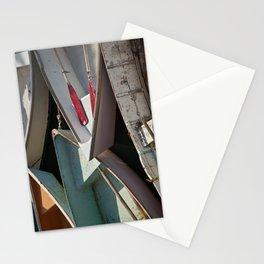 Schoodic Peninsula Boats Stationery Cards