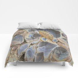 Seashell Abstract Comforters