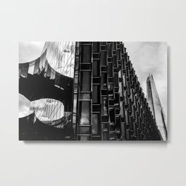View of The Shard Metal Print