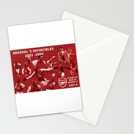 Arsenal The Invincibles 2003 -2004 (Legends) Stationery Cards
