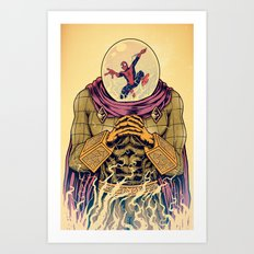 Mysterio Art Print