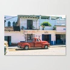Mexico street scene #2 Canvas Print