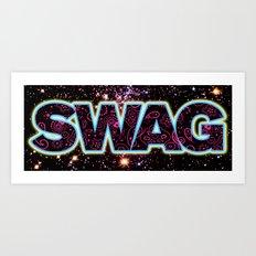 Swag Icon Art Print