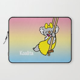 Koalita on the swing Laptop Sleeve