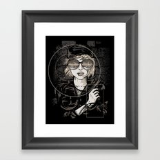 Dangerous Mind Framed Art Print