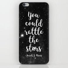 Rattle the Stars iPhone & iPod Skin