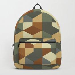 Abstract Geometric Artwork 51 Backpack
