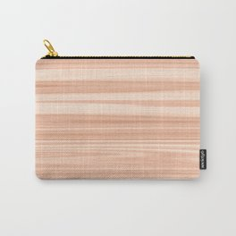 Cedar Wood Texture Carry-All Pouch