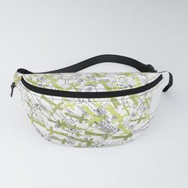 Goodbye My Characters Fanny Pack