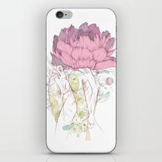 There's a Feeling In My Chest That Wants to Glide Like Leaves, and Set Like Fires 2/2 iPhone & iPod Skin