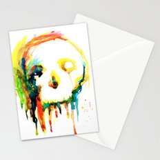 Happy/Grim Stationery Cards