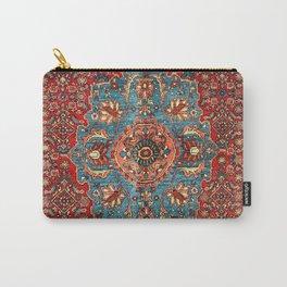 Bidjar Antique Kurdish Northwest Persian Rug Print Carry-All Pouch