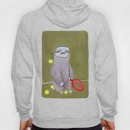 Sloths Are Bad At Things- Kevin the Tennis Star Hoody