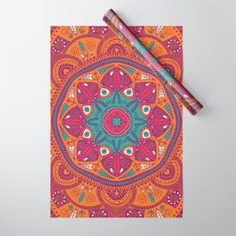 Colorful Mandala Pattern 017 Wrapping Paper