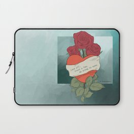 Wrong to none Laptop Sleeve