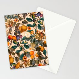 Vintage Fruit Pattern IX Stationery Cards