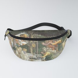 """Sandro Botticelli """"Youth of Moses"""", Sistine Chapel. Fanny Pack"""