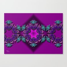 Abstract X Seven Canvas Print